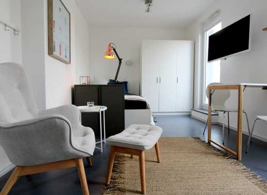 """""""Ihr Großstadt-Auftritt in Frankfurt naht? Unsere Micro-Apartments bieten schnell ein neues Zuhause"""""""