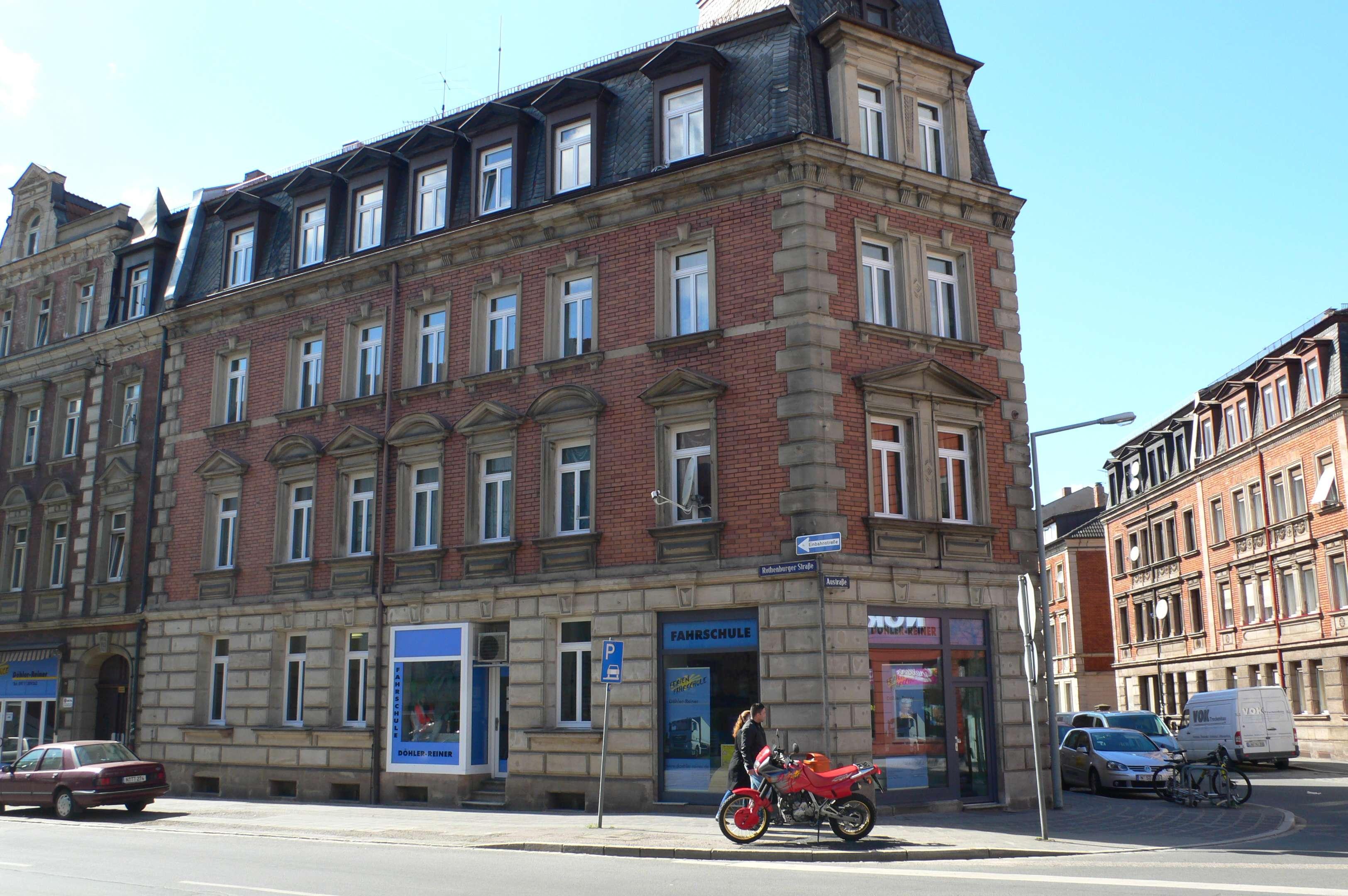 Erstbezug nach Sanierung: Helle 4-Zimmer-Wohnung zur Miete in Nürnberg in