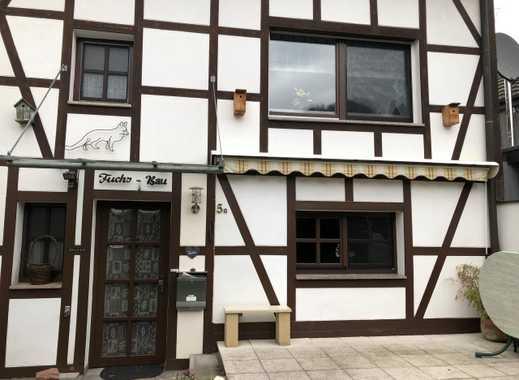 Hoffnungsthal - idyllische Ortslage: Kleines Fachwerkhaus mit Vorgarten...