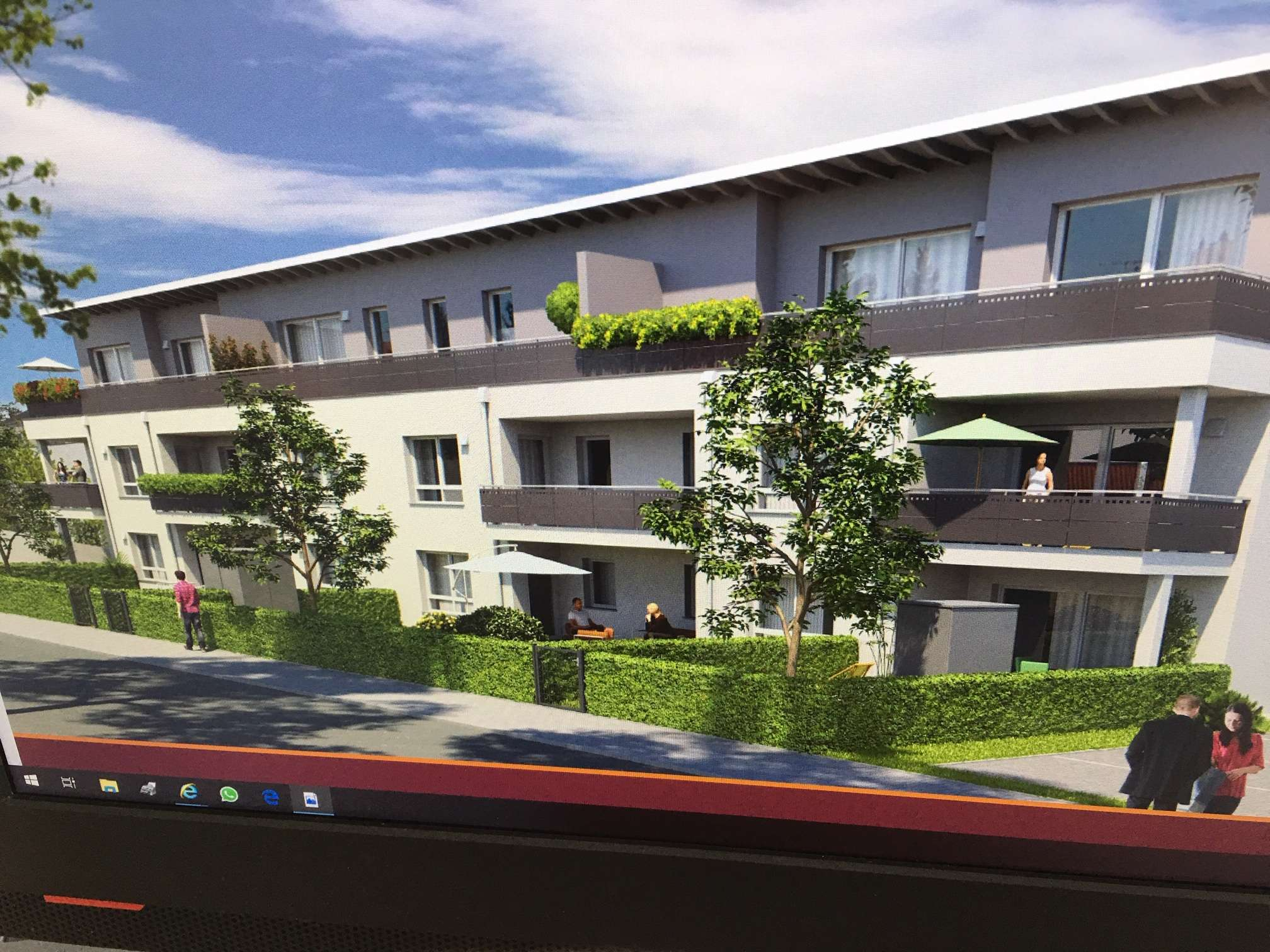 Neue 3-Zimmer-Erdgeschoss-Wohnung mit Garten, Terrasse und Tiefgarage in bevorzugter Wohnlage