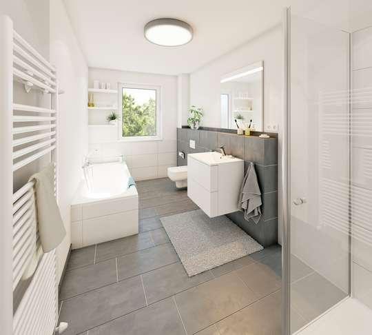 Stöckheim - Penthouse mit Bad en Suite.