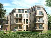 Bild Helle 5-Zimmer-Familienwohnung auf 2 Etagen mit offenem Kochbereich, Balkon und 46m² Garten