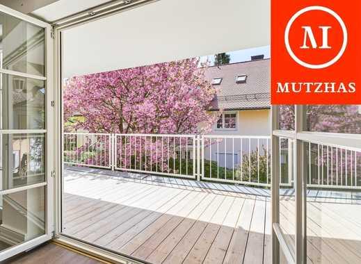 MUTZHAS - Bestlage Pullach - 5-Zi-Maisonettewohnung mit 2 großen Süd-Terrassen!