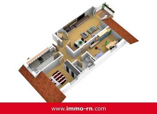 *** Frisch renovierte 4 ZKB Maisonettewohnung mit Balkon, Dachstudio und 2 Stellplätzen ***