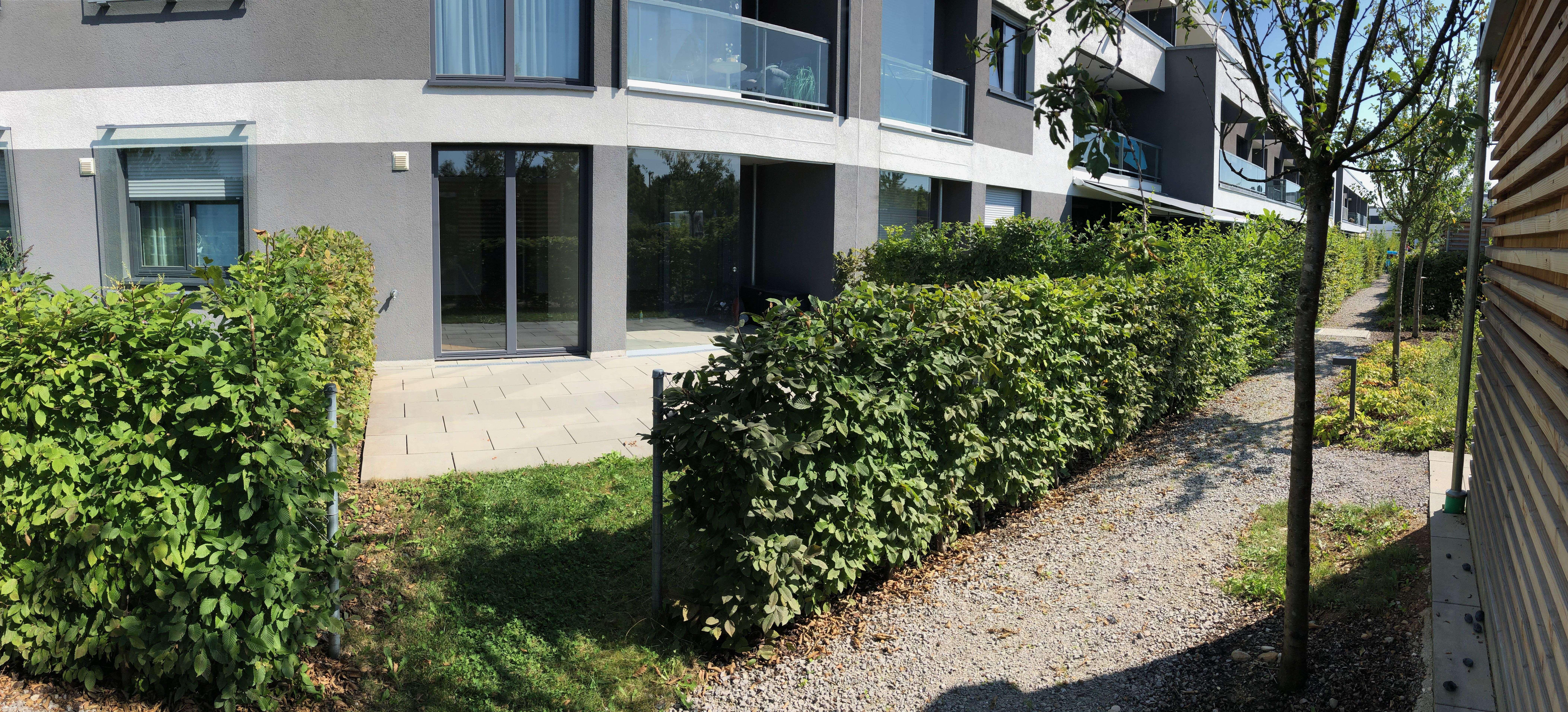 Neuwertige 2-Zimmer-EG-Wohnung mit Garten und EBK in Poing - provisionsfrei in