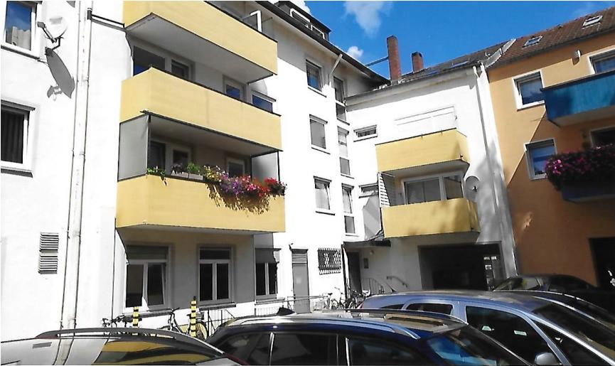 Gepflegte 3-Zimmer-Dachgeschosswohnung mit großem Balkon im Herzen von Bayreuth in City (Bayreuth)