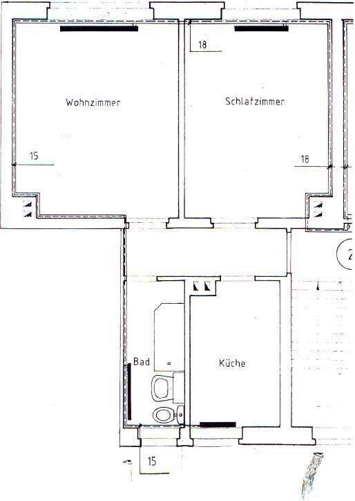 Wiesen 9-17 2-Raum