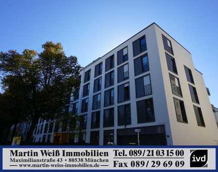 Modernes, teilmöbliertes 1-Zimmer-Apartment in Giesing Nähe Ostfriedhof in Ramersdorf (München)