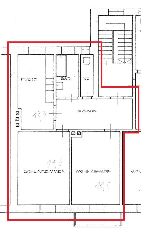 Komplett renovierte 2-Zimmer-Wohnung am Pasinger Marienplatz