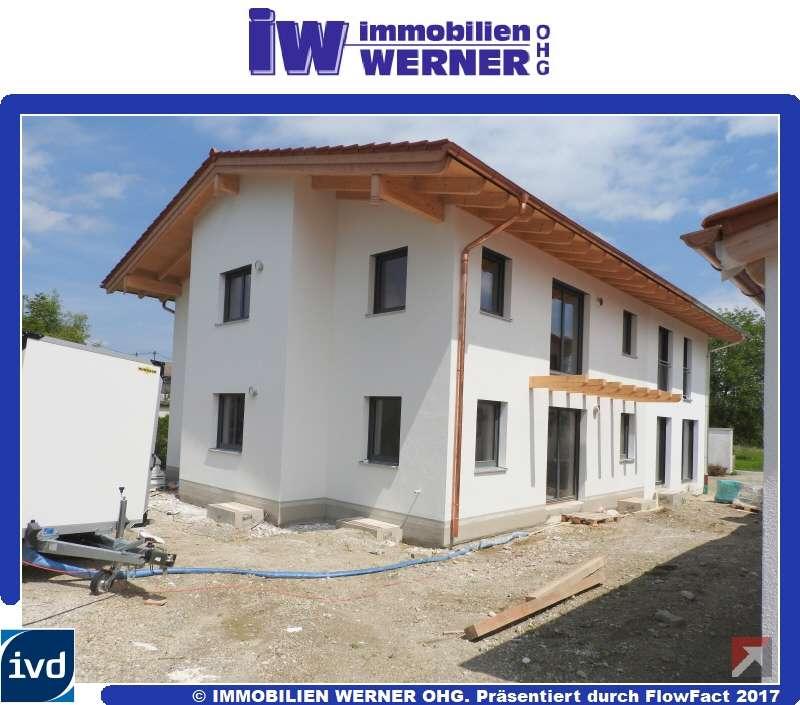 ***NEUBAU-3-Zimmer-Wohnung mit hohen Decken, Balkon und Garage in Pfaffenhofen*** in