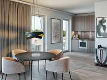 Unverbaubarer Parkblick Moderne 3-Zimmer-Wohnung für