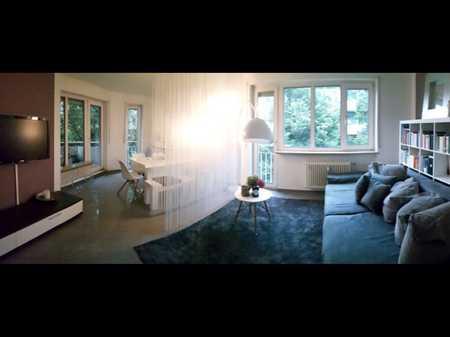 Tolle, helle und zentral gelegene komplett möblierte Wohnung - bezugsfrei ab 01.09 in Neuhausen (München)