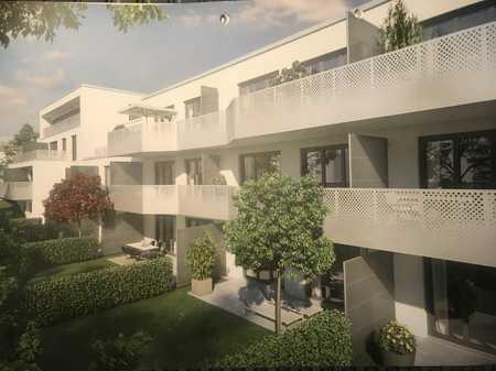 Neuwertige 2-Zimmer-Erdgeschosswohnung mit West-Terrasse und EBK in Hadern, München in Hadern (München)