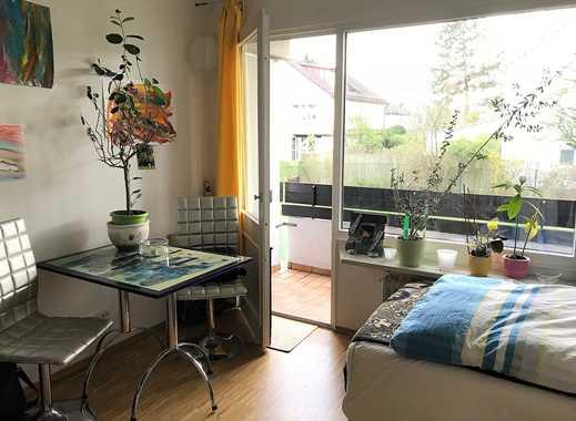 Schönes, sonniges, 1-Zimmer-Appartement mit Balkon, in Solln