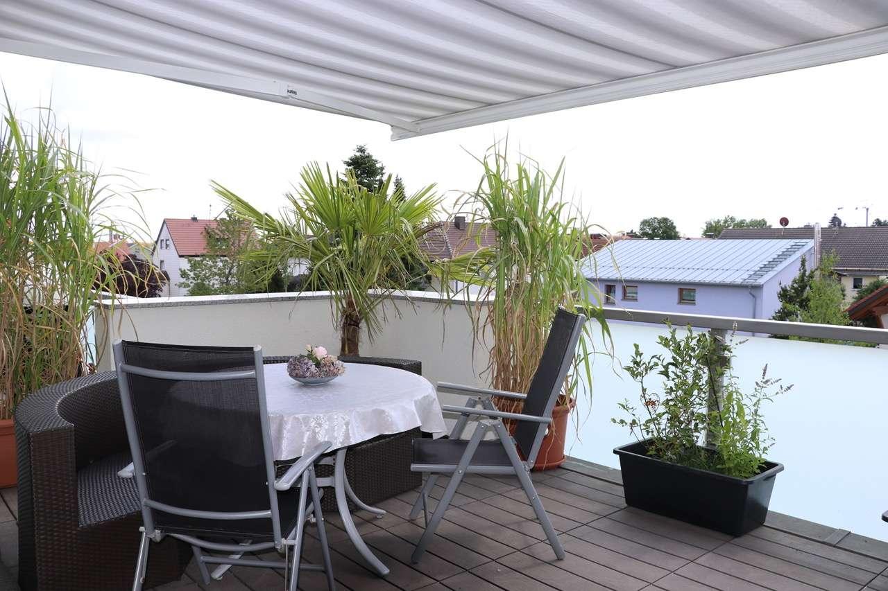 3,5 Zimmer Penthouse-Wohnung, hochwertig, hell, ruhig in Maisach