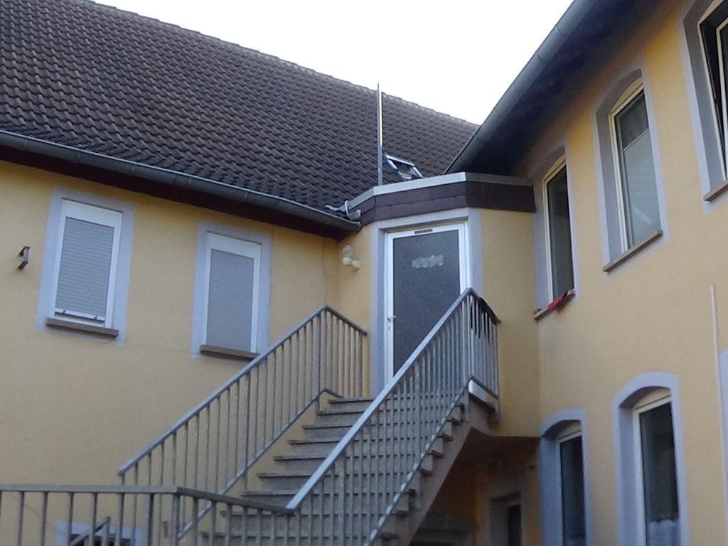 Treppenaufgang Nebengebäude