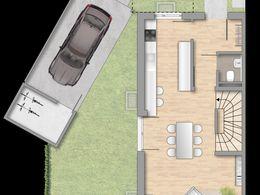 Grundriss EG - Haus 1