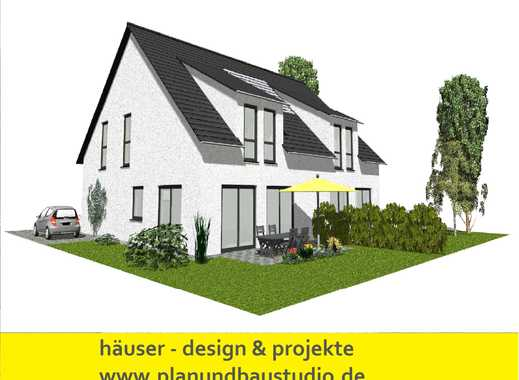 Neubau eines Doppelhauses in Bad Pyrmont Holzhausen