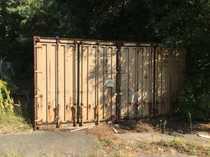 20 Fuß Container als Lager