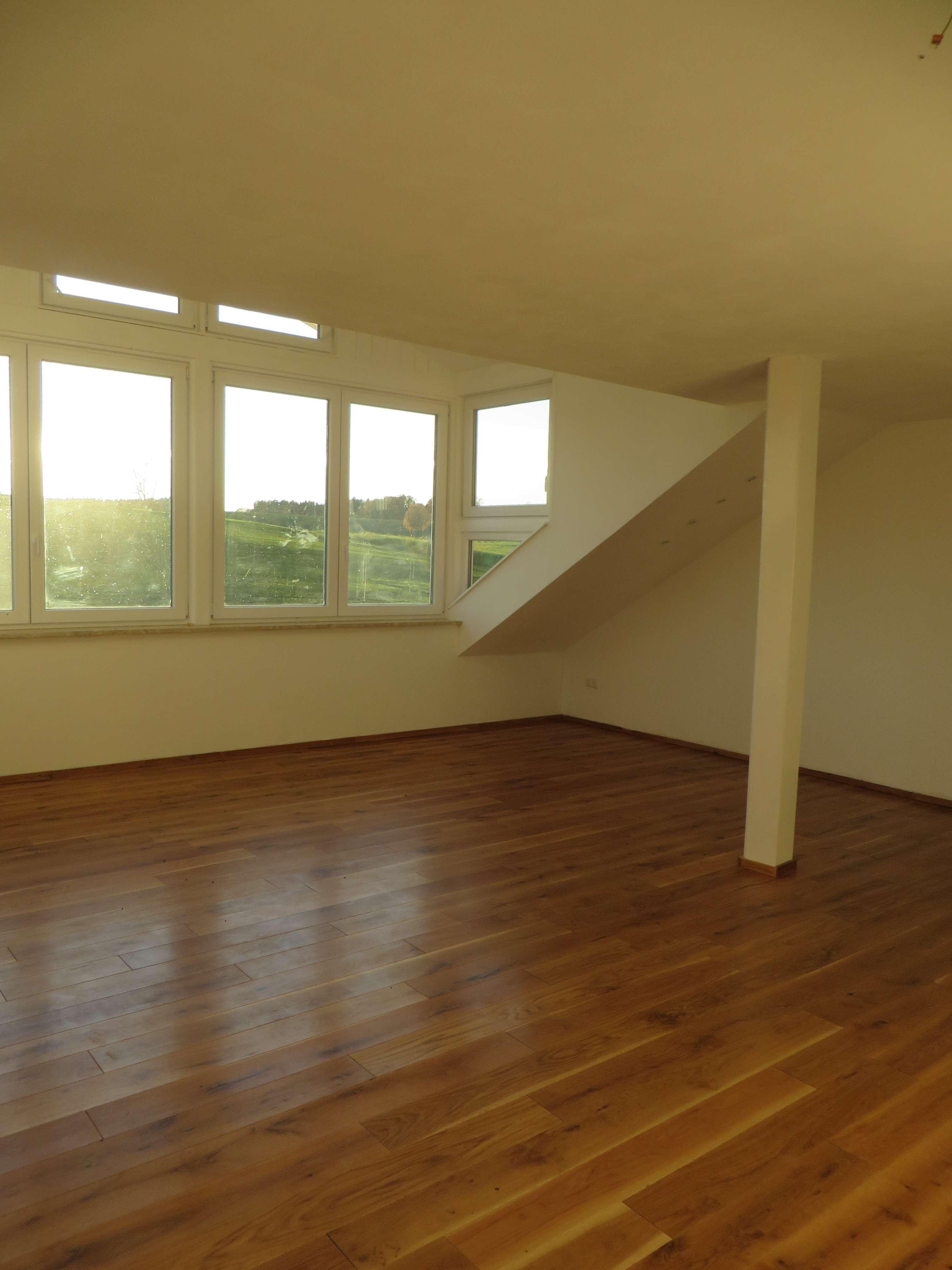 4-Dachgeschoß-Wohnung mit Dachterrasse , Neubau in Langquaid