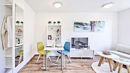 *Erstbezug - 1-Zimmer-Wohnung vollmöbliert* in Südstadt (Fürth)