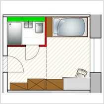 Geschmackvolles Apartment in einem Studentenwohnheim