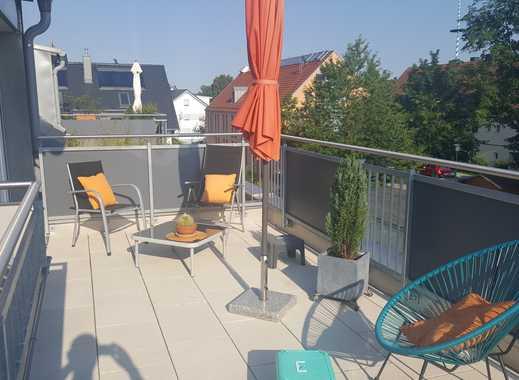 Außergewöhnliche DG Galerie Wohnung mit SüdWest-Dachterrasse