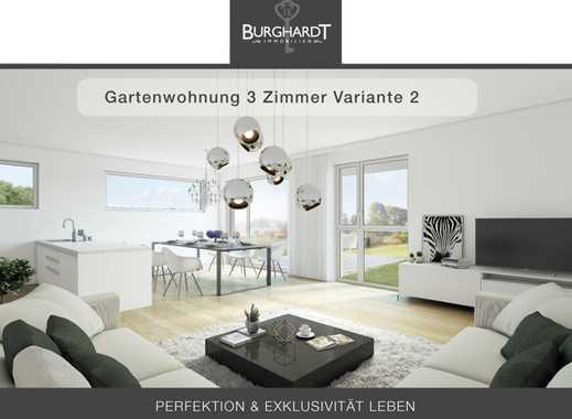 Bad-Vilbel - Niederberg: 3 Zimmer Gartenwohnung -Elegantes Wohnen mit Taunusblick