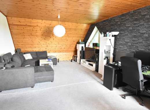 RUDNICK bietet RUHE: 3 Zimmer Dachgeschosswohnung in Hagenburg