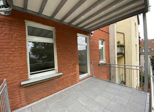 Klein aber fein - Apartment mit großem Balkon