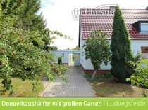 Doppelhaushälfte in Ludwigsfelde direkt Gartenstadt