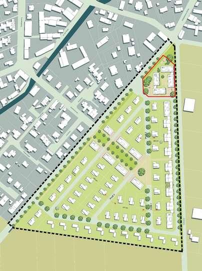 Großzügiges Bauträgergrundstück im Neubaugebiet