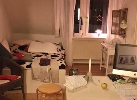 Gepflegte 5-Zimmer-Dachgeschosswohnung in zentraler Lage in HD Neuenheim befristet für 1 Jahr