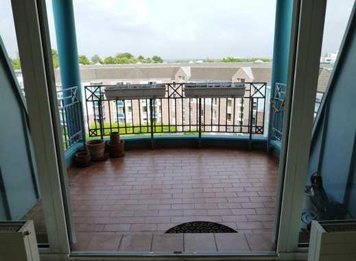Schicke 2-Zimmer-Dachgeschosswohnung mit tollem Ausblick