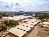 Logistikstandort in Bochum Rampentore sehr