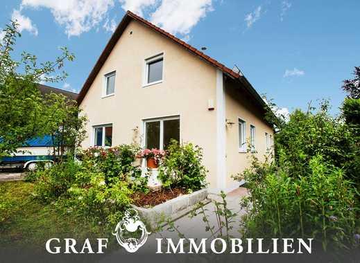 Familienfreundliches Einfamilienhaus mit 360 m² Grundstücksfläche in sehr ruhiger Lage - Allach
