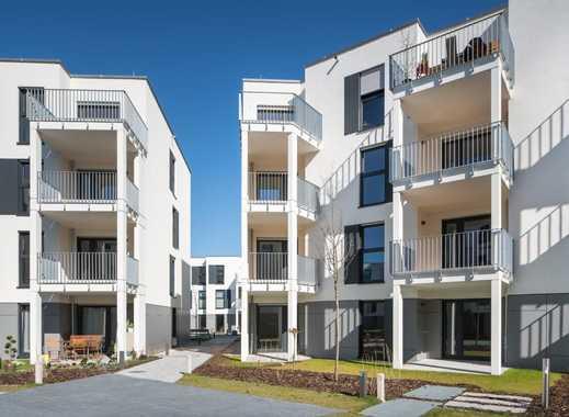 Erstbezug: gschöne 3,5-Zimmer-Wohnung mit Einbauküche und Balkon in Thon