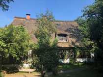 Reetdach-Haus im