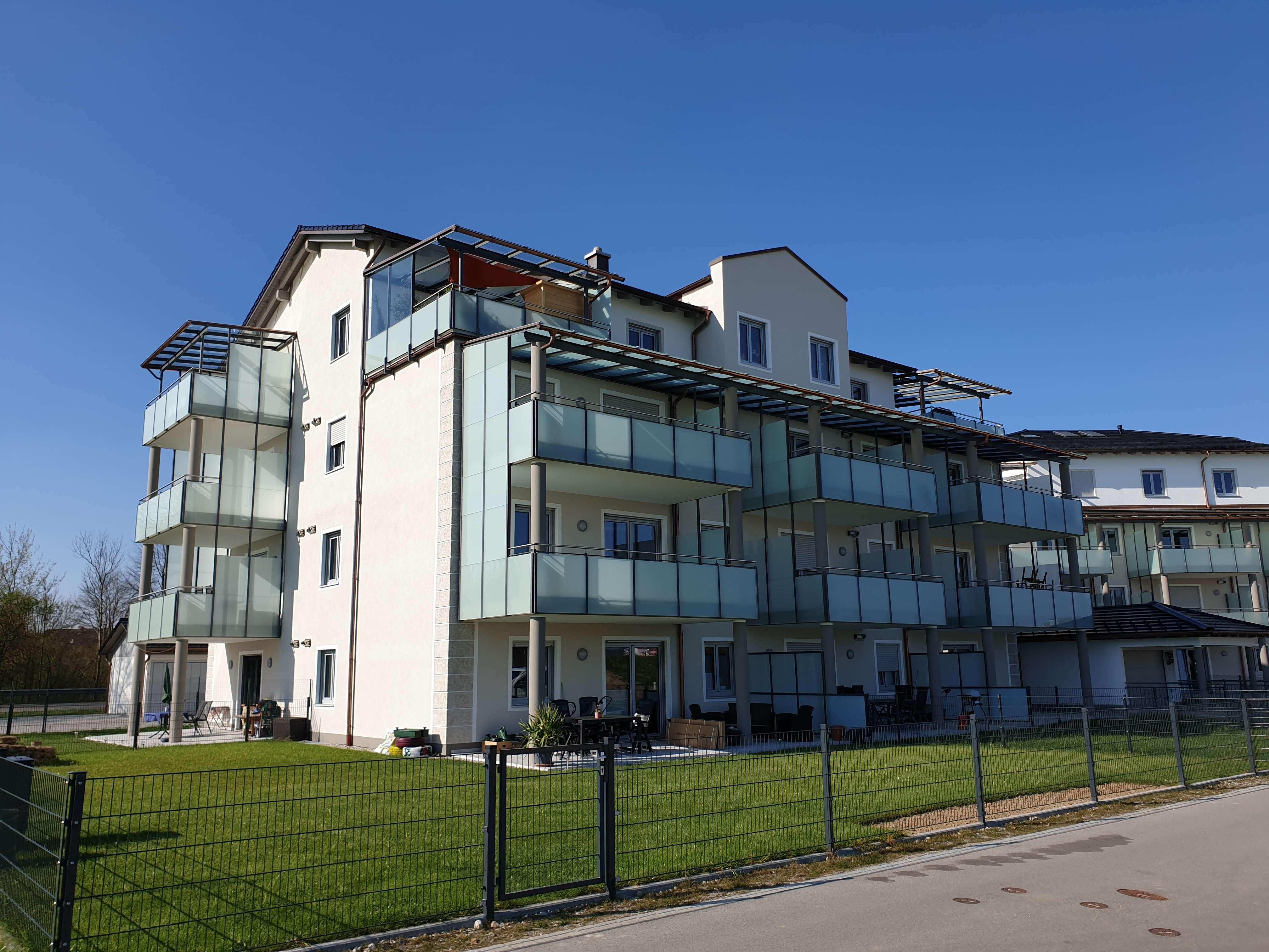 Gehobene 3-Zimmer-Neubau-Wohnung, ERSTBEZUG, sehr großer Balkon