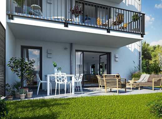 Einladendes Reiheneckhaus mit sonnigem Garten in idyllischer Umgebung nahe München