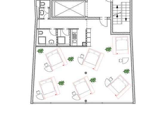 Top Lage |Viehofer Platz |Box-Hostel für 12 Betten | Mit Baugenehmigung |Konzessionsfertig!