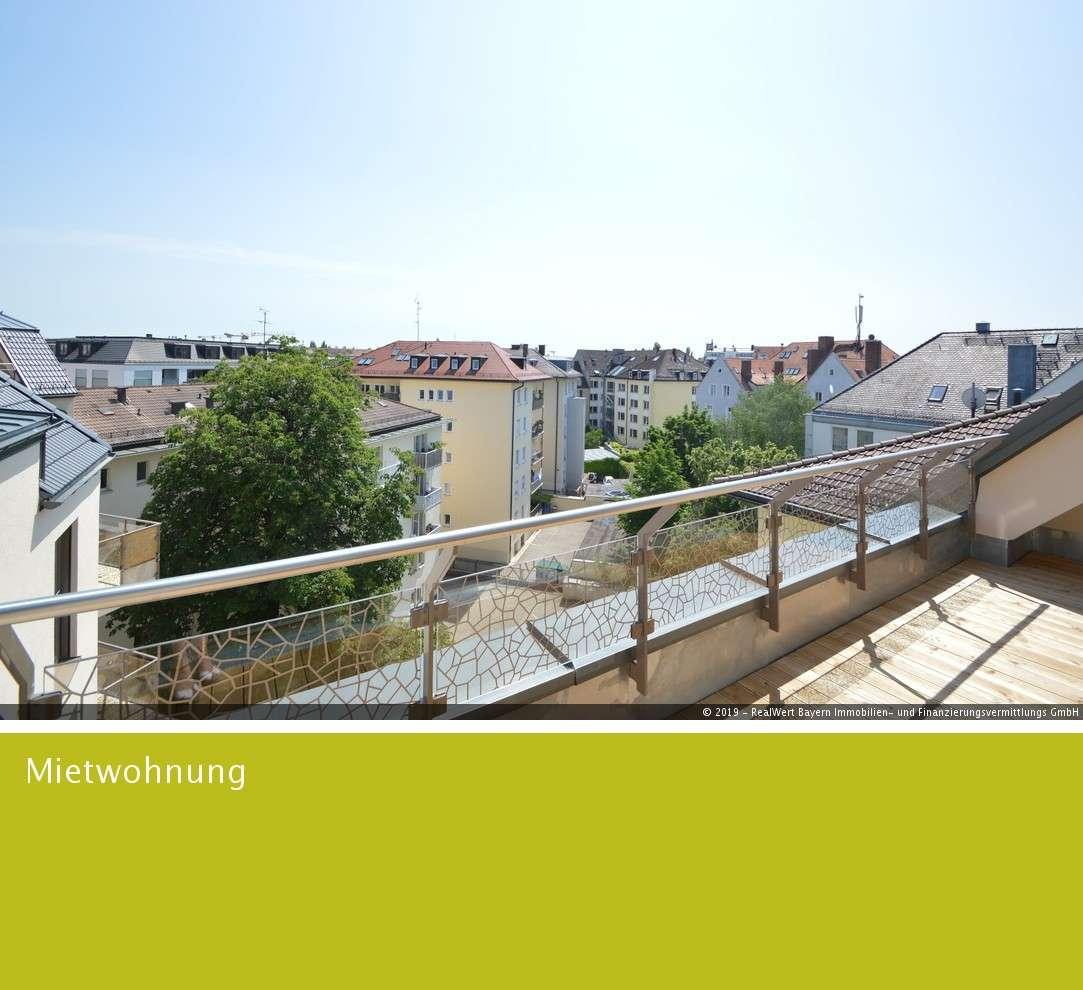 Wohnen mit Ausblick! Traumhafte 4-Zimmer-Dachgeschosswohnung! in Ludwigsvorstadt-Isarvorstadt (München)