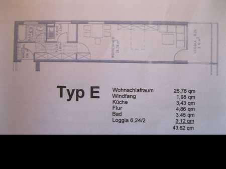 Bayreuth, Uni u. Citynähe, 44 m²,  Stellpl. in Altstadt/Glocken/Geigenreuth (Bayreuth)