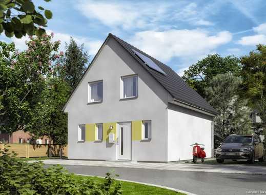 Grundstück mit projektiertem kleinen Traumhaus in Fredersdorf-Süd