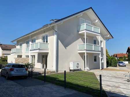 Niedrigenergiehaus A+, Erstbezug, EG-ETW mit exklusivem Hobbyraum (+30 m2) in Mühldorf am Inn