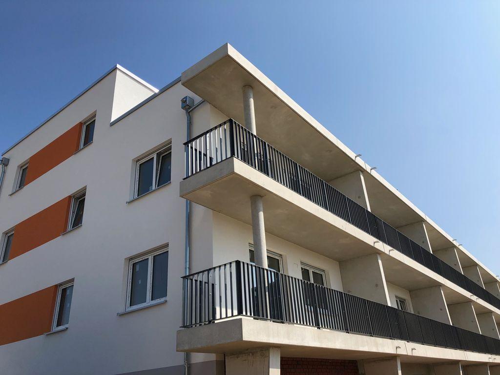 Südseite / Balkone