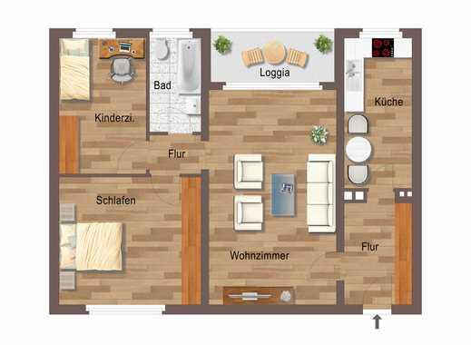 Tag der offenen Besichtigung - 26.05.18 - Ihr neues Zuhause - top sanierte 3-Zi-Wohnung + Loggia!