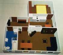 Wunderschöne 2 - Raum Wohnung sucht