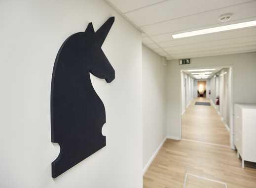 Eigener Bereich für bis zu 100 Arbeitsplätze in den AEG-Höfen (Unicorn AEG II)