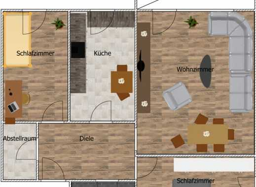 1.100 €, 87 m², 3 Zimmer